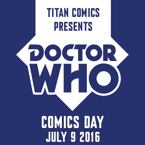 Doctor Who Comics Day Logo 2016