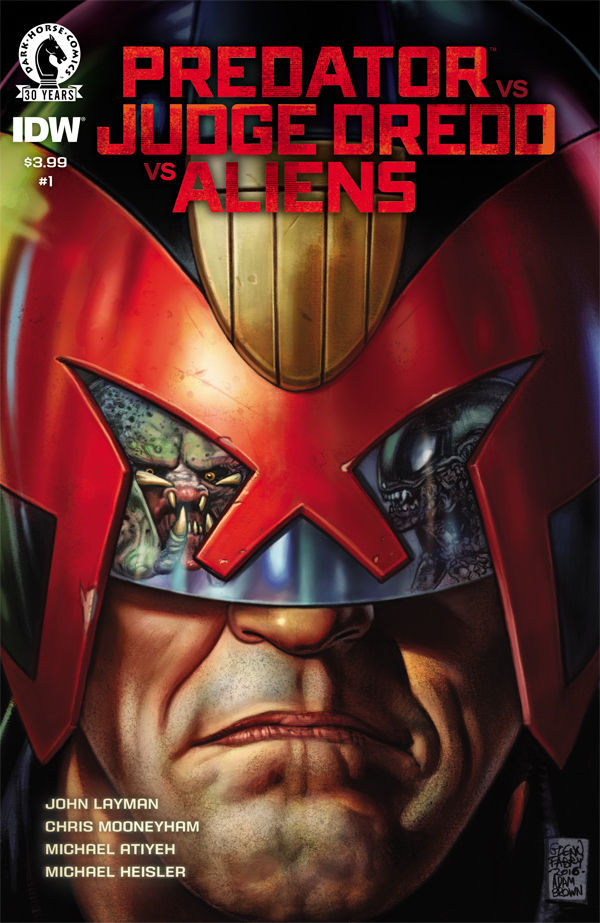 Predator VS Judge Dredd VS Aliens #1