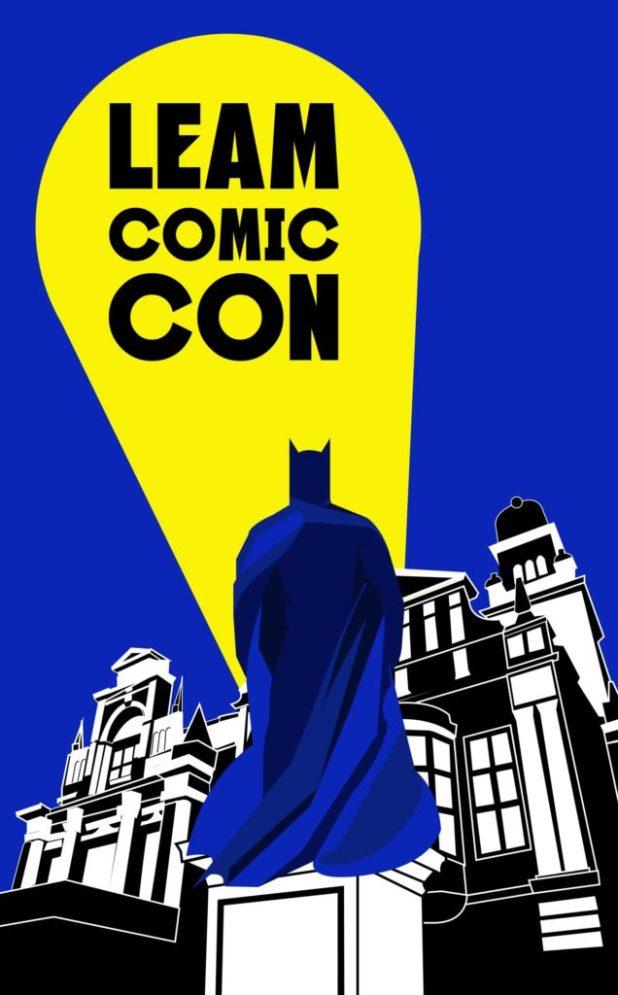 Leam Comic Con Logo