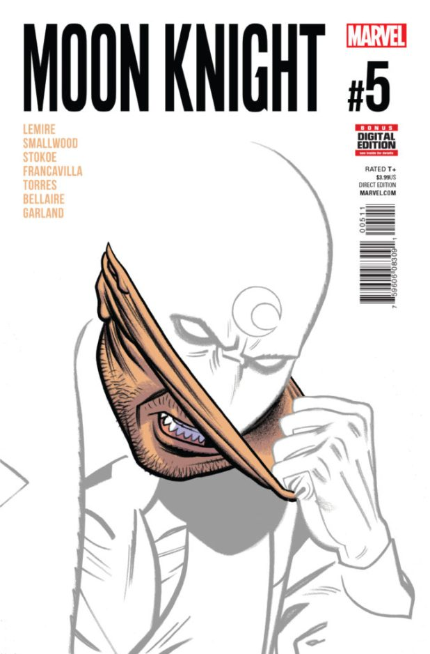 Moon Knight #5 (2016) - Cover