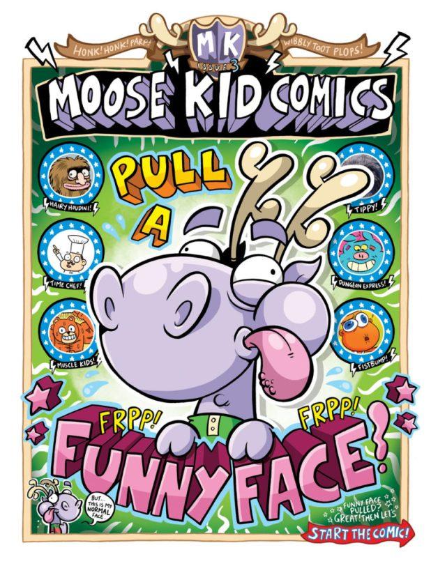 Moose Kid Comics Issue Three - Cover