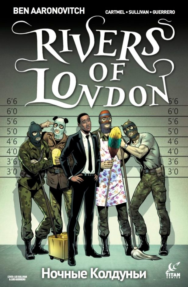 Rivers of London: Night Witch #4 Cover A
