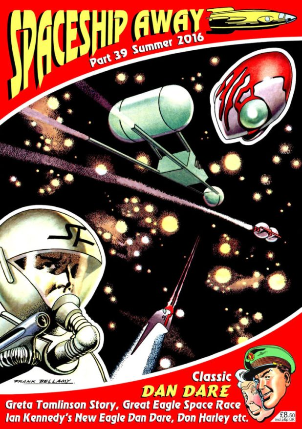 Spaceship Away 39 - Cover