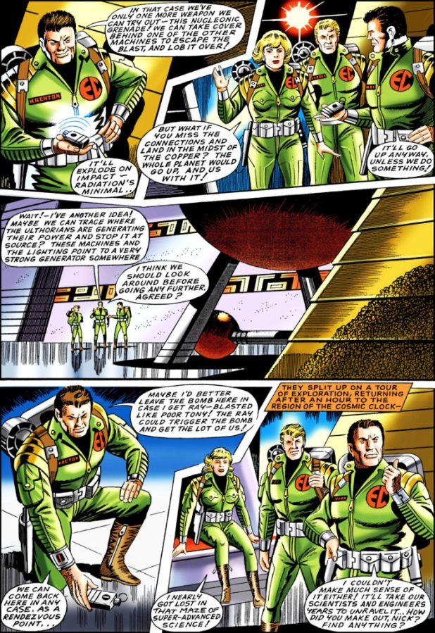 Spaceship Away 39 - Nick Hazard Page 2