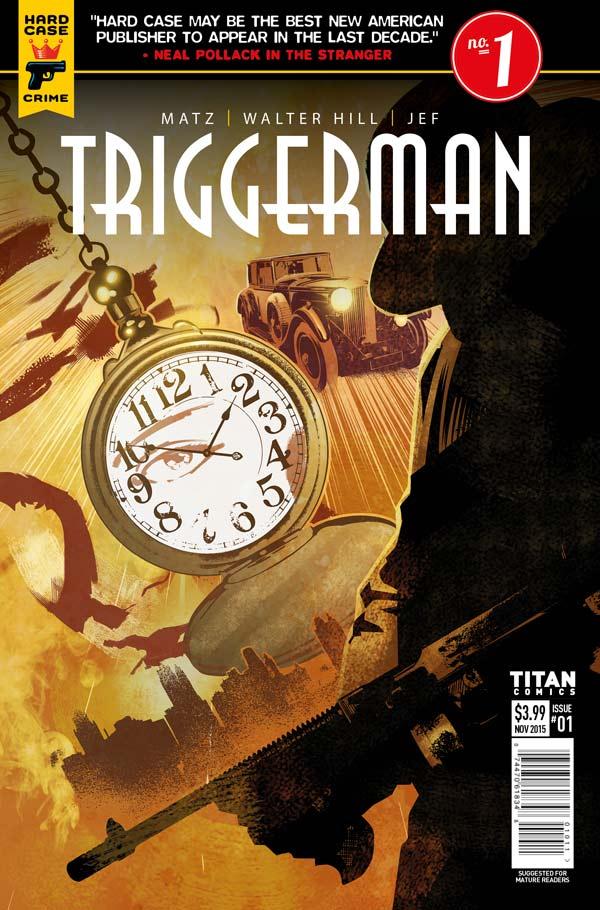 Triggerman #1 Cover B: Dennis Calero