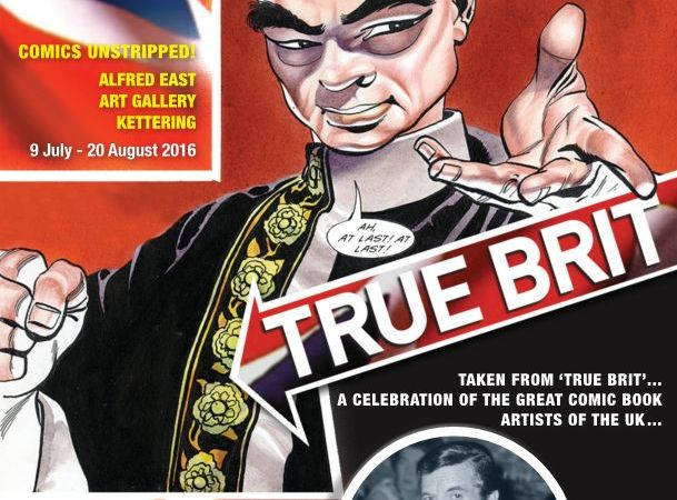 "Frank Bellamy Thunderbirds Art Prints Released, and do check out ""True Brit""!"
