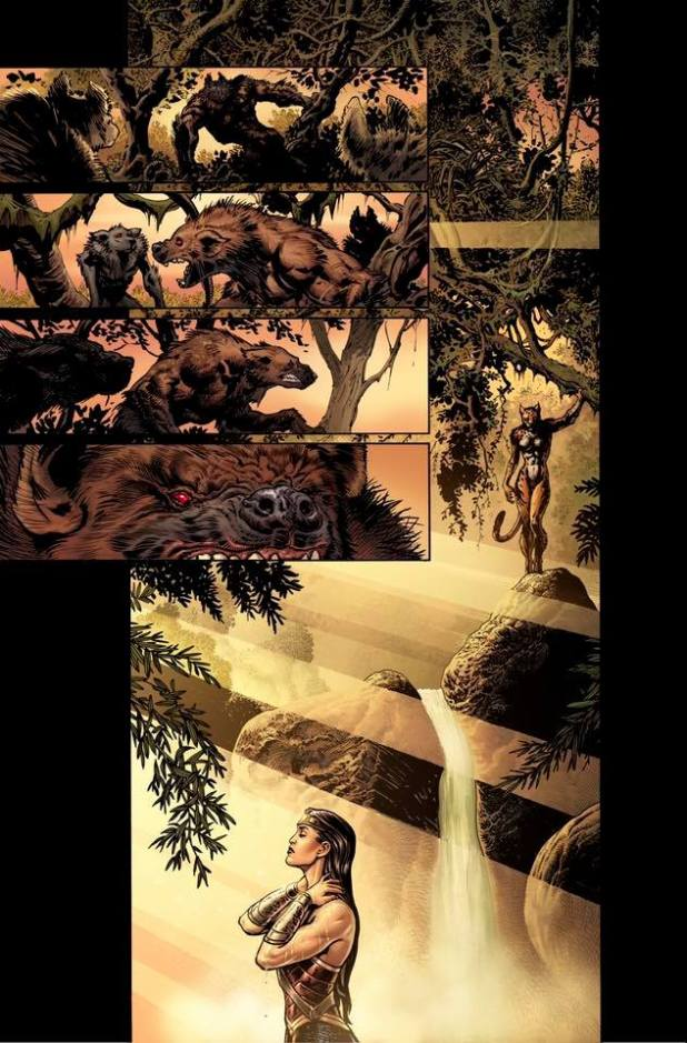 Wonder Woman #3 Page 1 Unlettered
