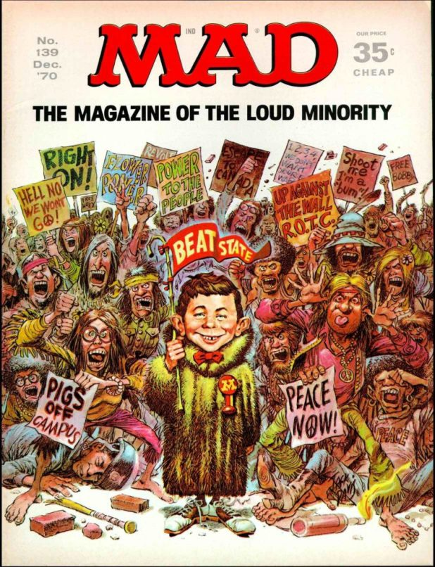 MAD #139 - Cover by Jack Davis