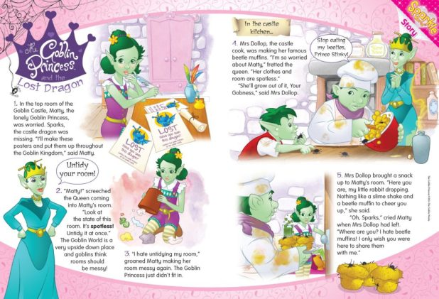 The Goblin Princess (Sparkle World)