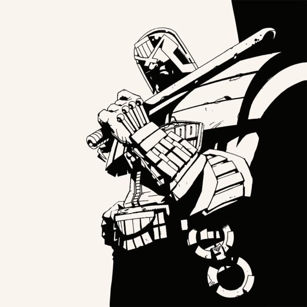 Judge Dredd Letterpress Set by Jock 1