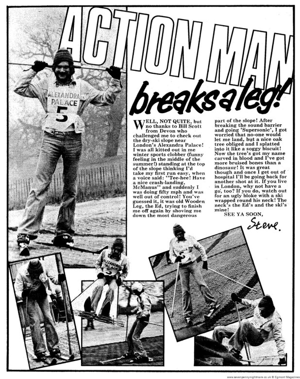 Action Man 12: 14th August – Dry skiing at Alexandra Palace