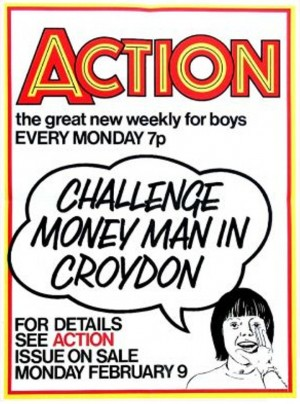 The Mad, Mad Money Man of Action promotional poster