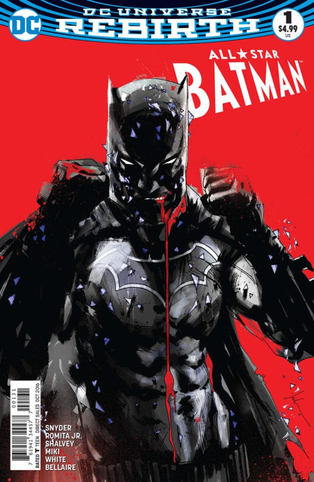 All-Star Batman #1 - Jock Variuant Cover