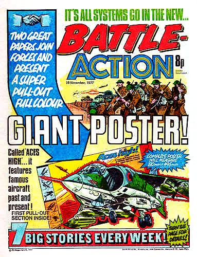 Battle-Action cover dated 19th November 1977