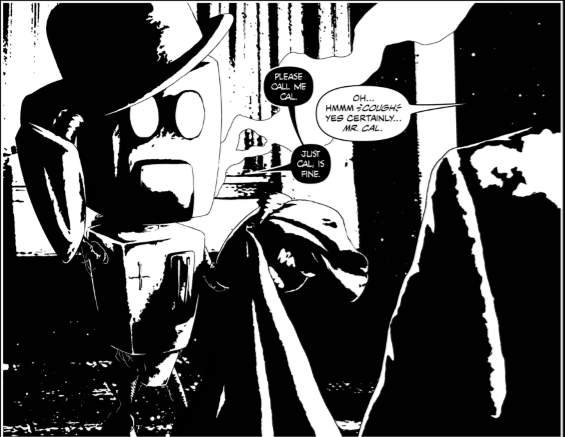 Cognition Issue One Panel Three