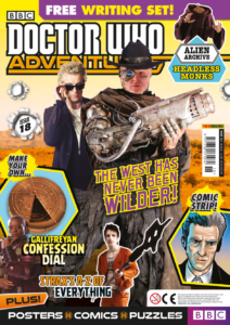 Doctor Who Adventures Issue 18 - Cover