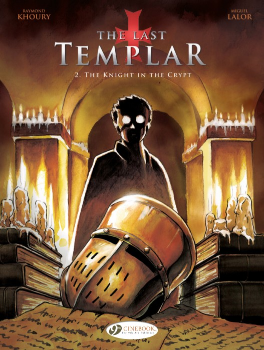 The Last Templar Volume 2, The Knight in the Crypt