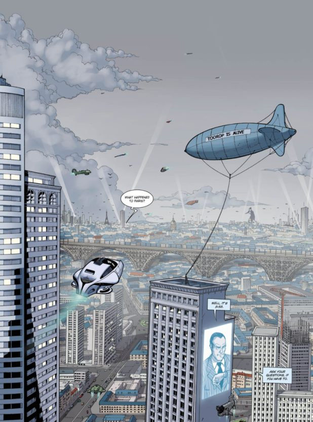 Sample art from Masked #1