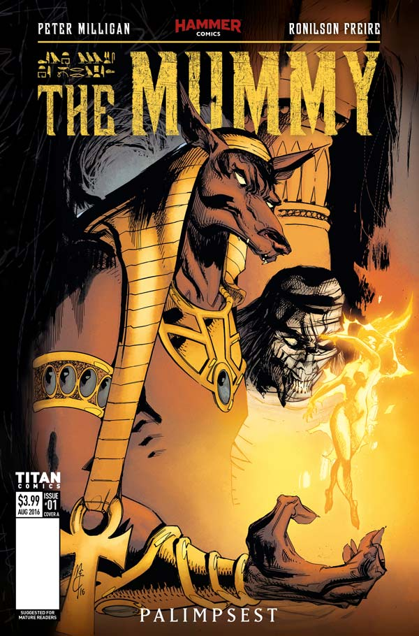 The Mummy #1 Cover A - by John McCrea