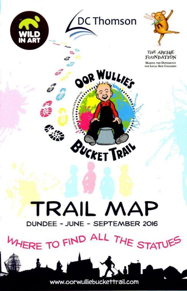 Oor Wullie Bucket Trail Leaflet