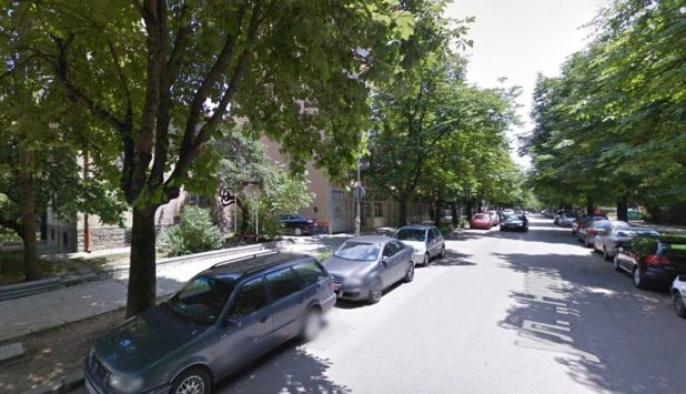 Operating from somewhere on this leafy street in Sofia, a web company has hijacked Sevenpenny Nightmare's copyrighted content. (Image via Google Maps)