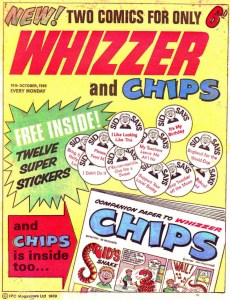 Whizzer and Chips Issue One - Cover dated 18th October 1969