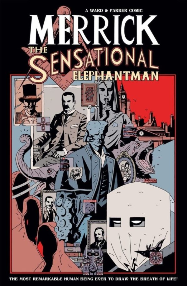 Merrick: The Sensational Elephantman TPB Cover