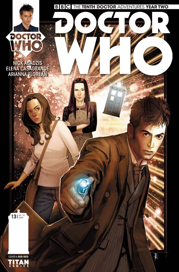 Doctor Who: The Tenth Doctor Year Two #13 - Cover A