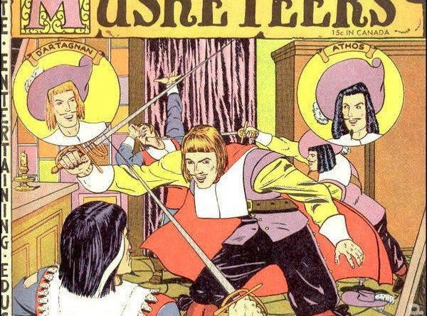 "Classic Comics presentes ""The Three Musketeers"""