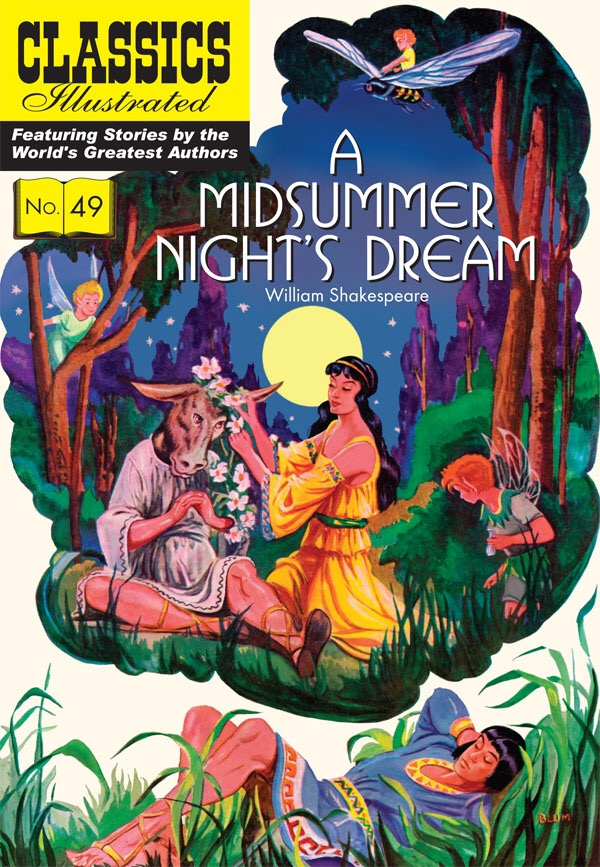 "Classic Illustrated 49 - ""A Midsummer Night's Dream"