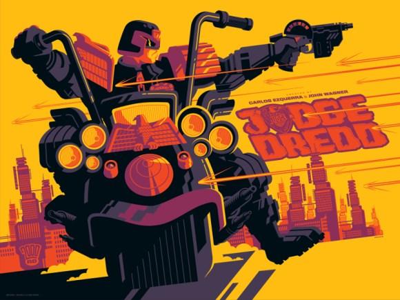 Vice Press - Judge Dredd by Tom Whalen - Variant