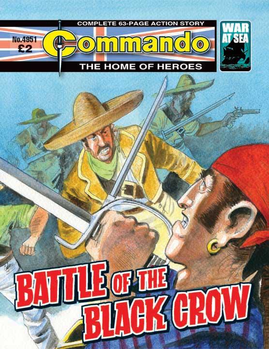 Commando No 4951 – Battle of the Black Crow