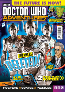 Doctor Who Adventures Issue 19 - Cover