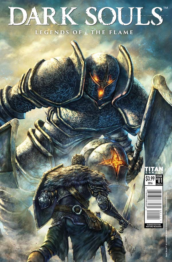 Dark Souls: Legends of the Flame #1 - Cover A