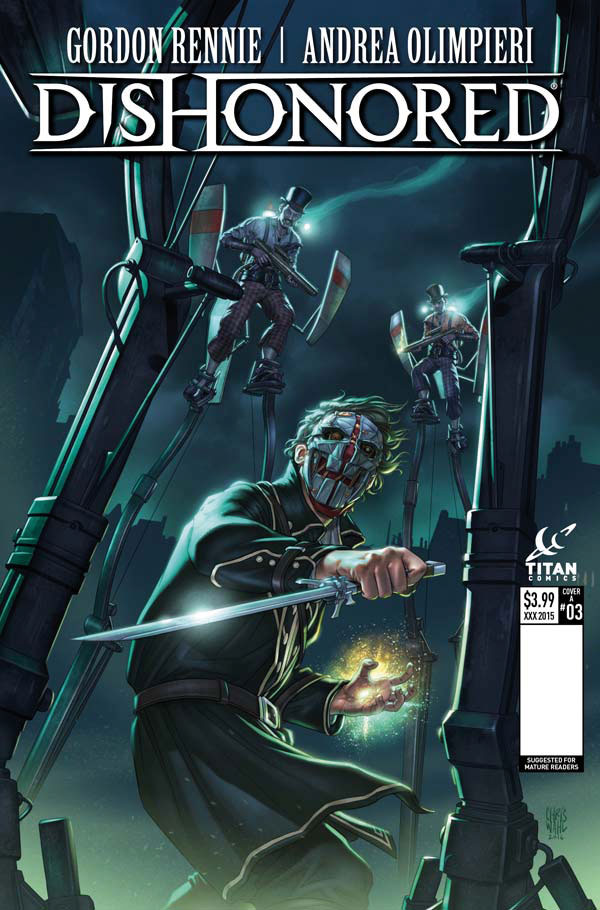 Dishonored #3 Cover A