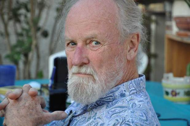 Festival guest and miscreant Gilbert Shelton, creator of Fat Freddy's Cat and more