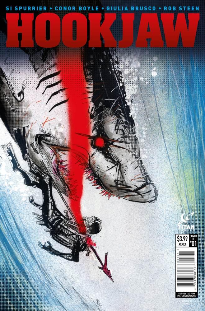 Hook Jaw #1 Cover B John McCrea