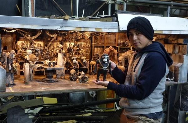 Junk Head director and creator Yamen (Takahide) Hori