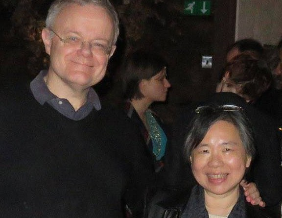 Nick Landau and Vivian Cheung