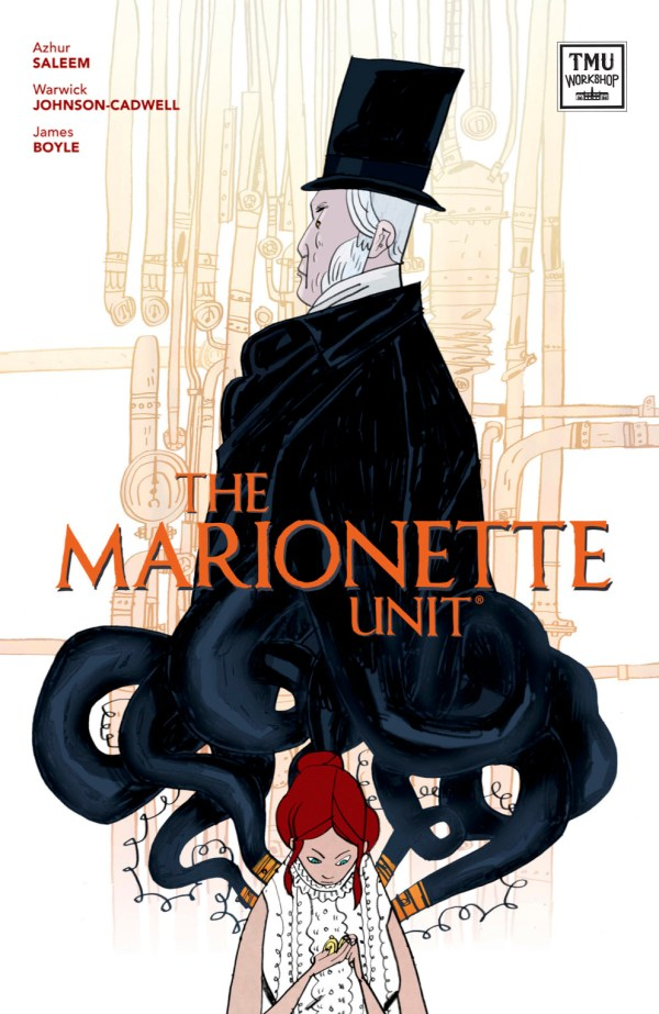 The Marionette Unit - Cover