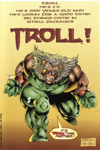 Troll Promotional Ad
