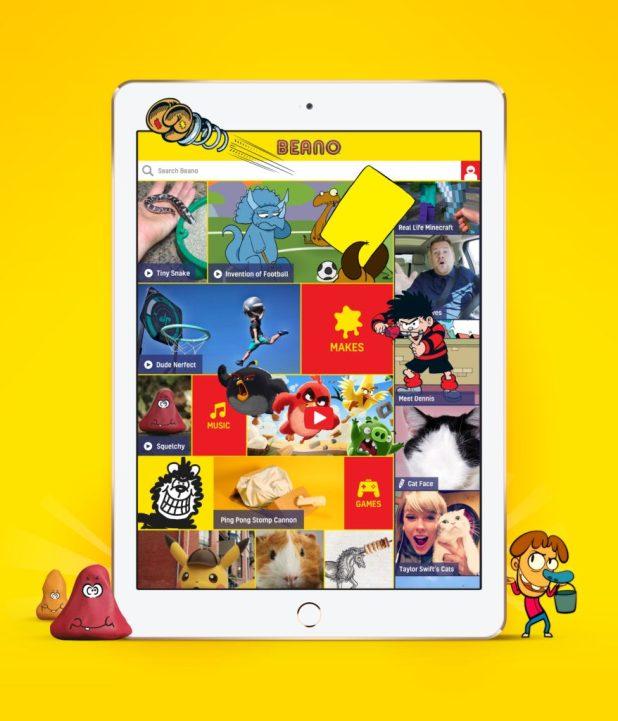 Beano 2016 Digital Homepage