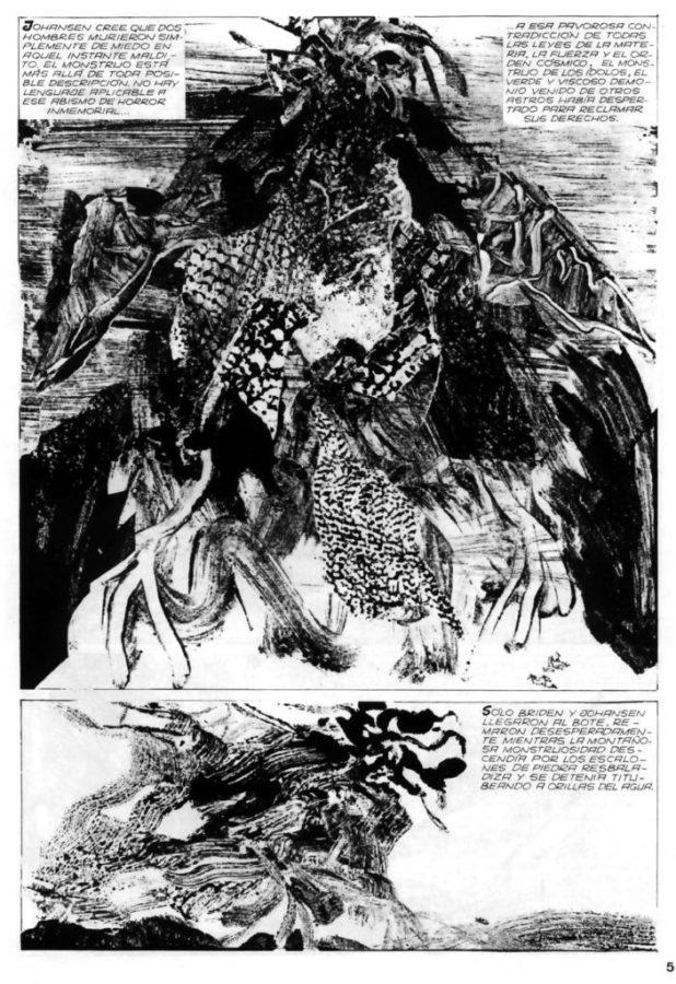 Alberto Breccia - Lovecraft Sample 1