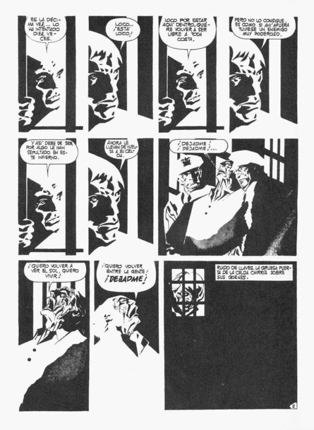 A page from Los Ojos y la Mente