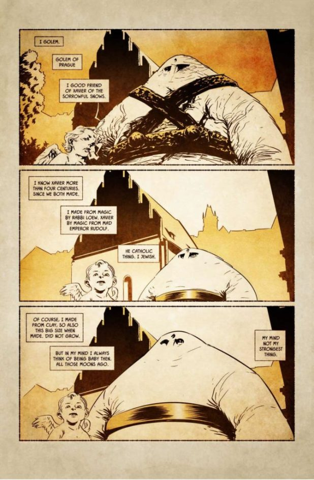 "A page from ""A page from ""The Famous Golem Speaks (Briefly)"""