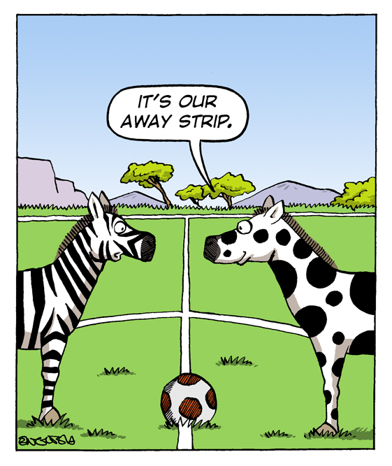 Football Earth - The Wild Side - Zebras