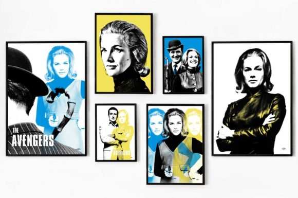Art & Hue - The Avengers - Cathy Gale