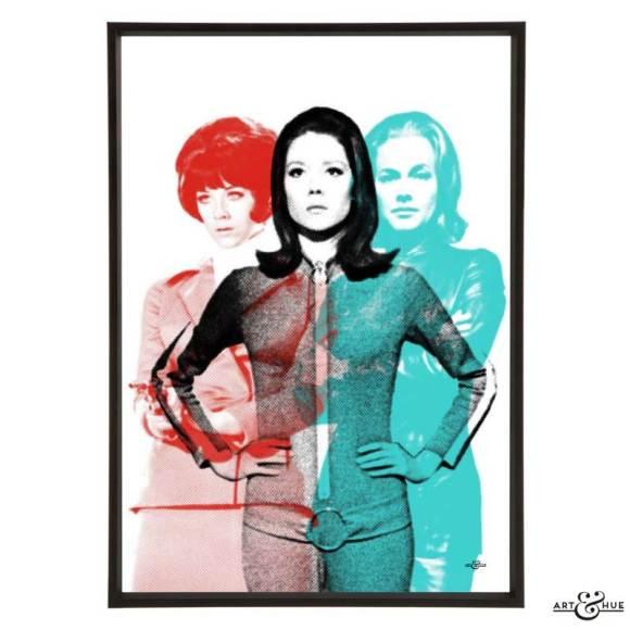 Art & Hue - The Avengers - Ladies