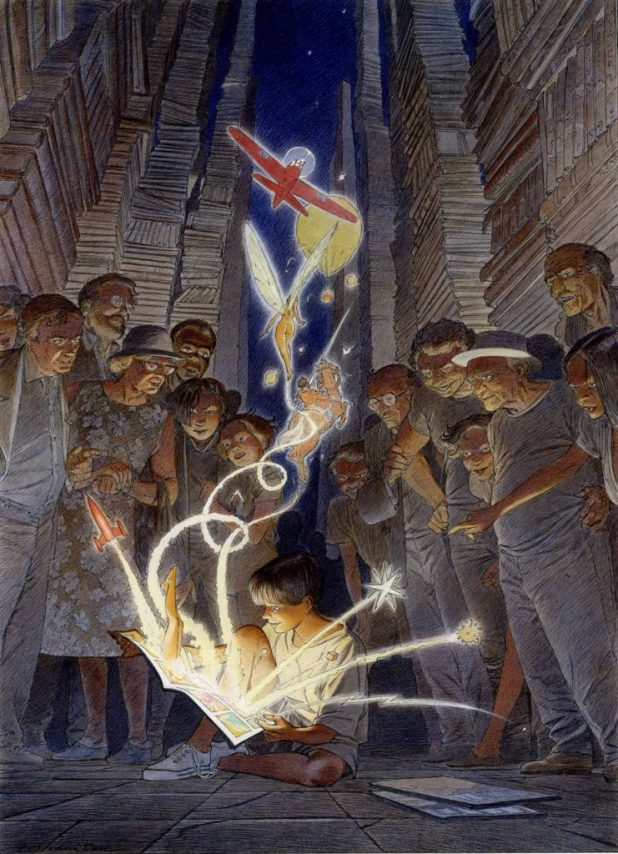 Art from The Obscure Cities project by Francois Schuiten