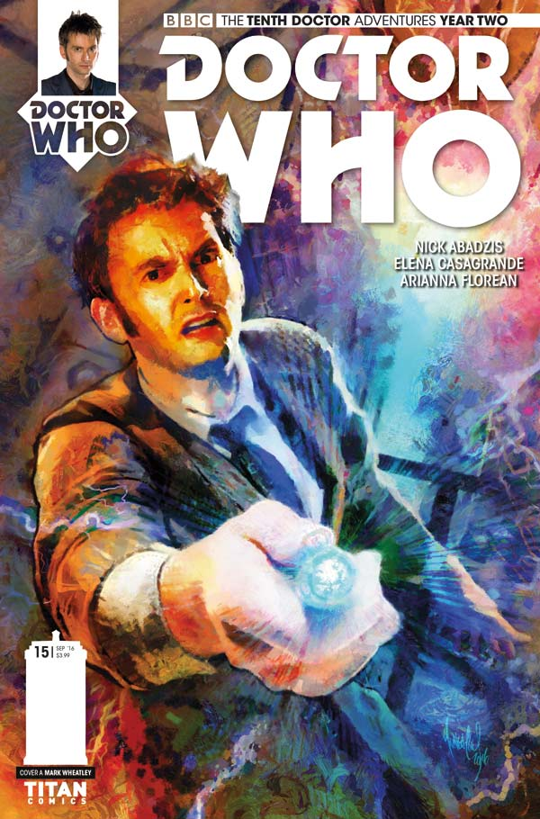 Doctor Who: The Tenth Doctor Volume 2 #15 - Cover A